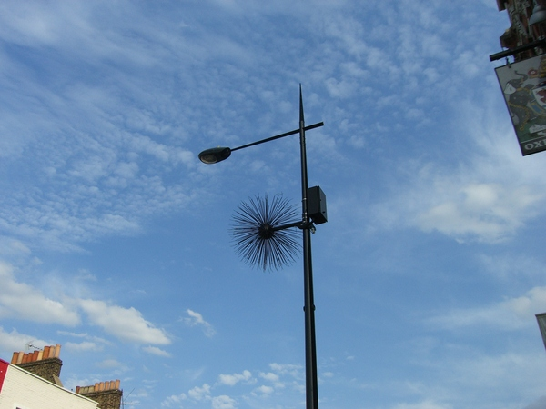 camden town的路燈