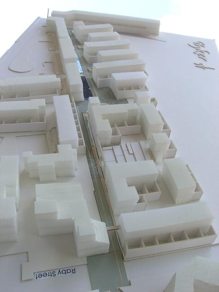 設計基地模型