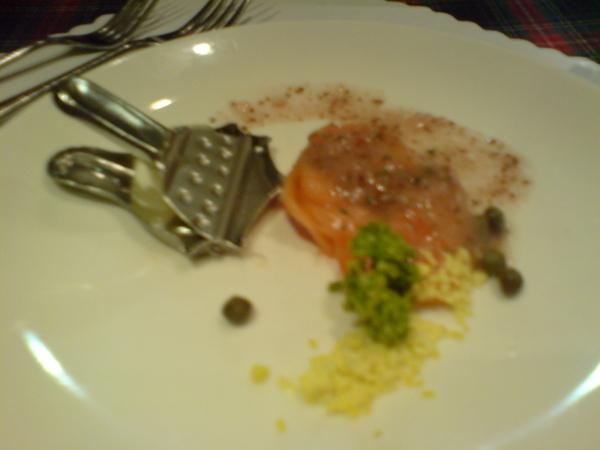 另一道前菜 燻鮭魚