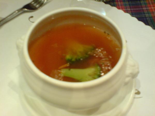 另一道湯 義式蔬菜湯
