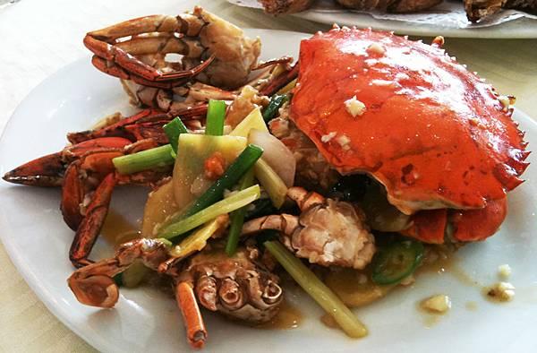 薑葱抄螃蟹