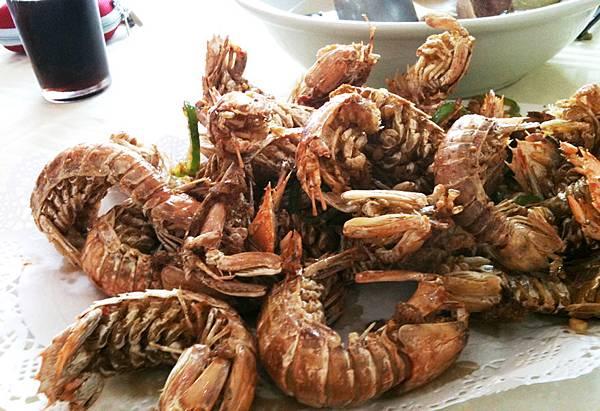 椒鹽瀨尿蝦(小隻)