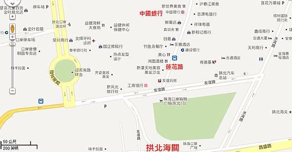 蓮花路地圖-中國銀行