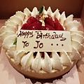 文華東方送給站長的生日蛋糕