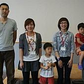 很高興能和成穎學姊一起認識吉岡大輔先生的家庭