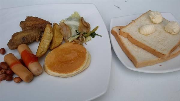 早餐很簡單~~可愛的貝殼奶油