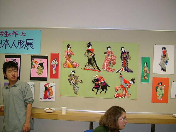 日本人偶展示