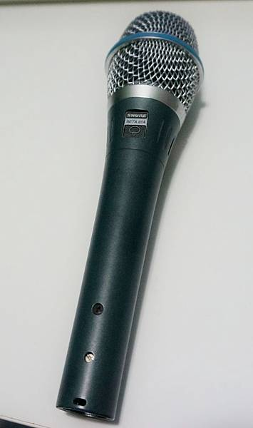 Shure 87a 電容式麥克風