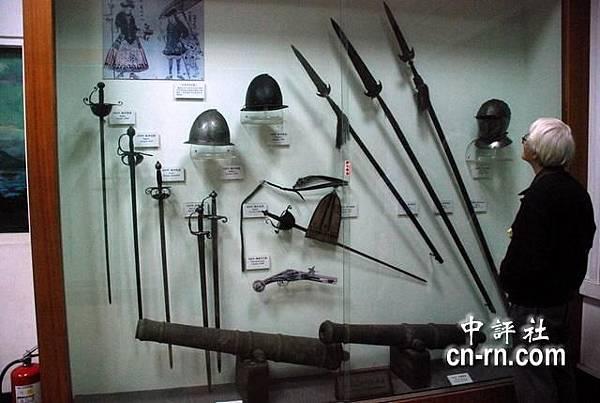 荷蘭攻台、迎戰明鄭大軍時期的兵器.JPG