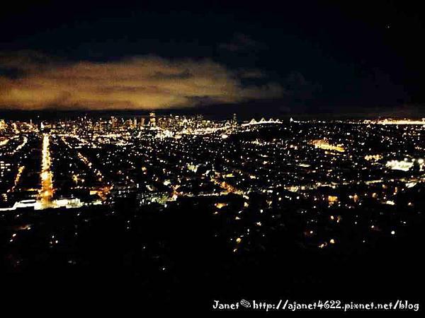 ✈Traveling in San Francisco☼ 舊金山 x 貝納爾高地夜景 Bernal Heights Park