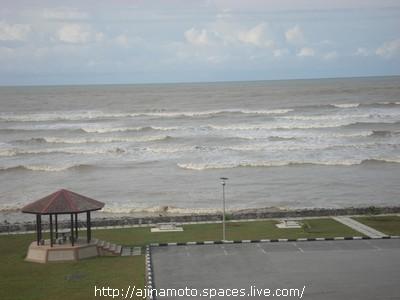 大風大浪的海