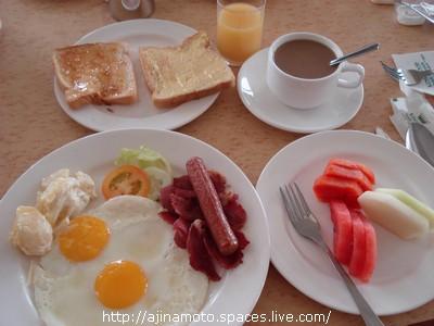 早餐:全套美式早餐