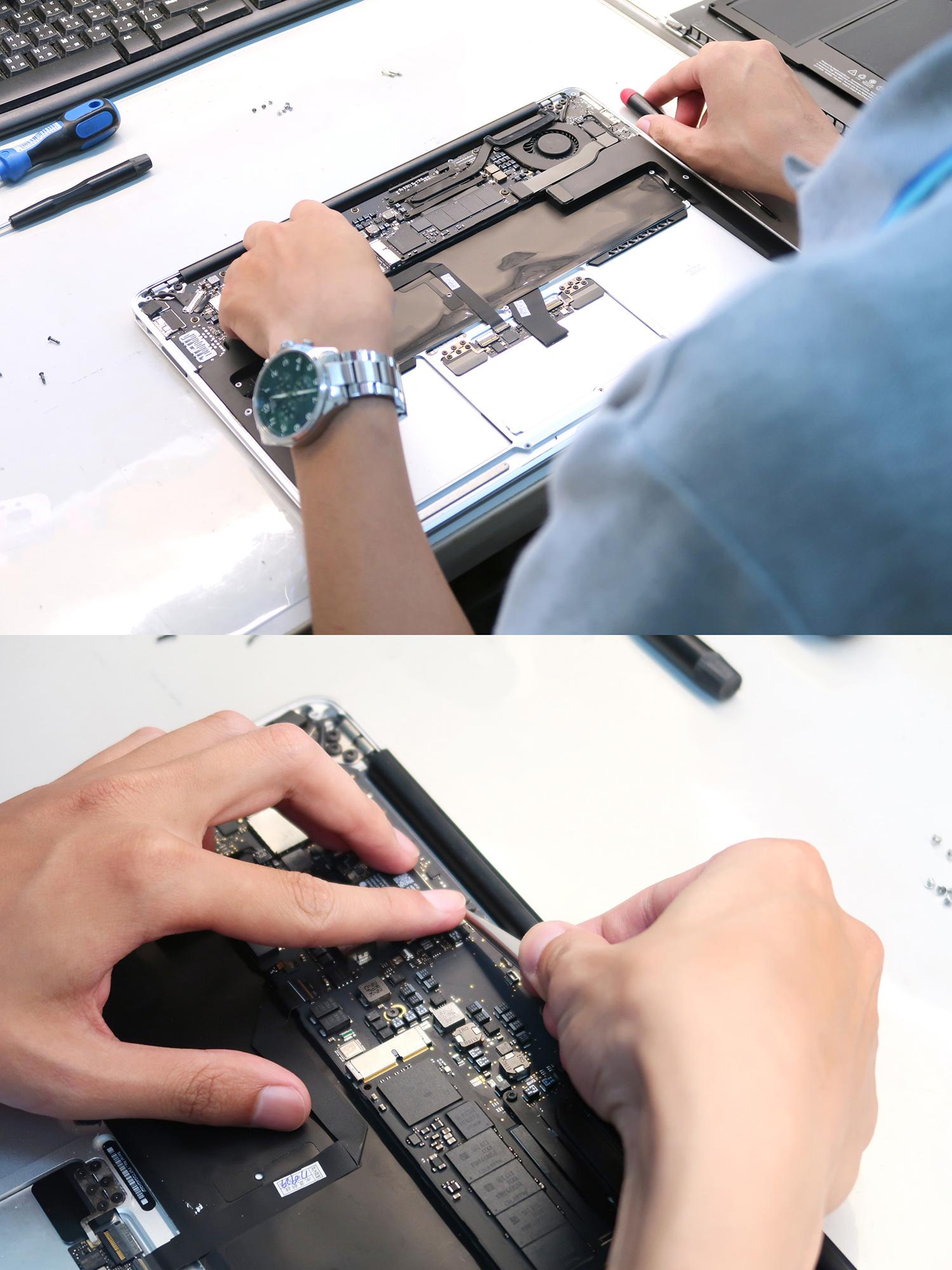 Mac黑屏維修過程-士林Mac維修推薦