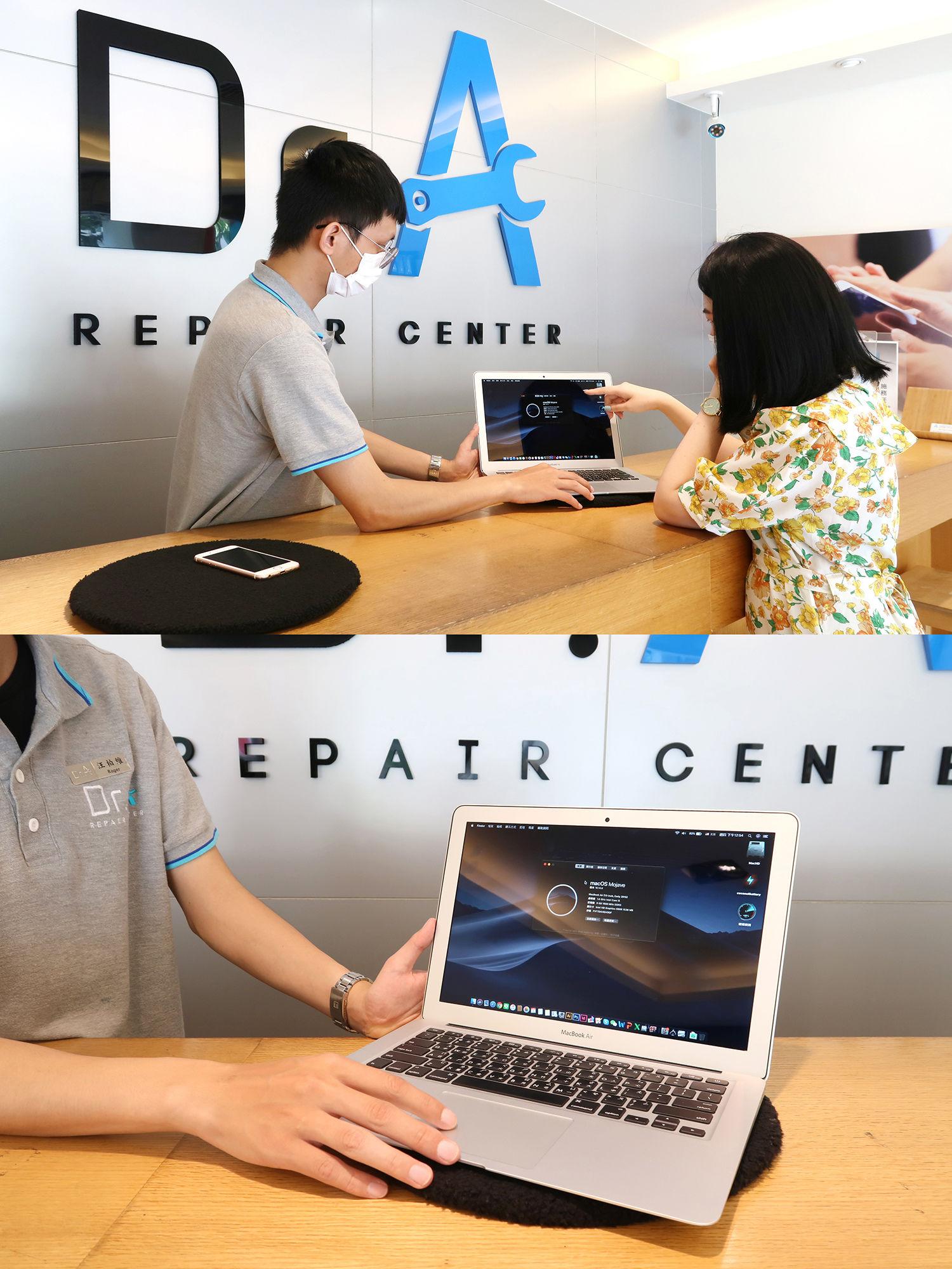 Mac螢幕維修後確認-士林Mac維修推薦