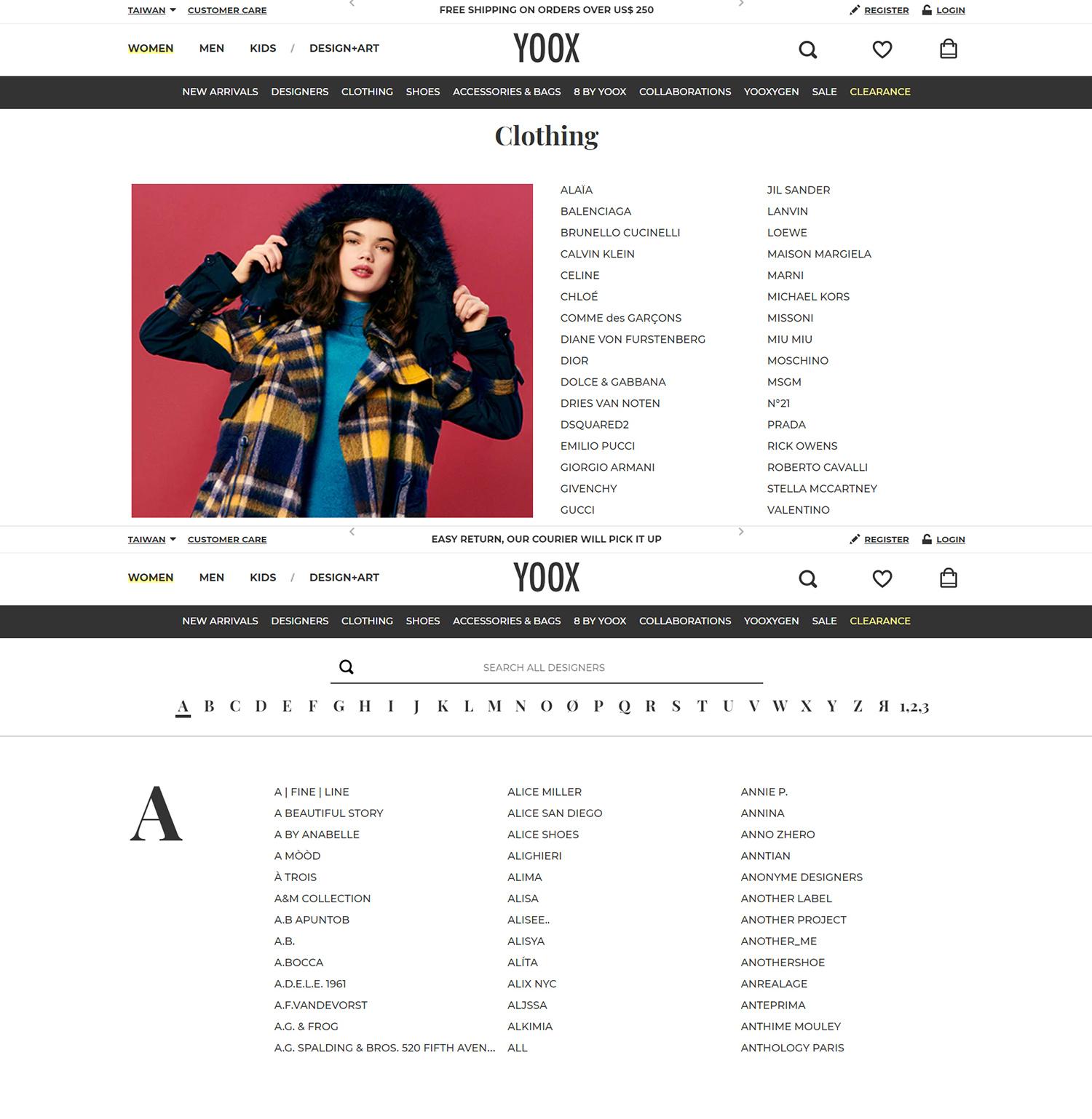 yoox 開箱心得 yoox code yoox折扣碼 配送台灣 (3).jpg