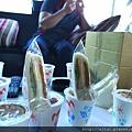 早餐--奶茶+三民治