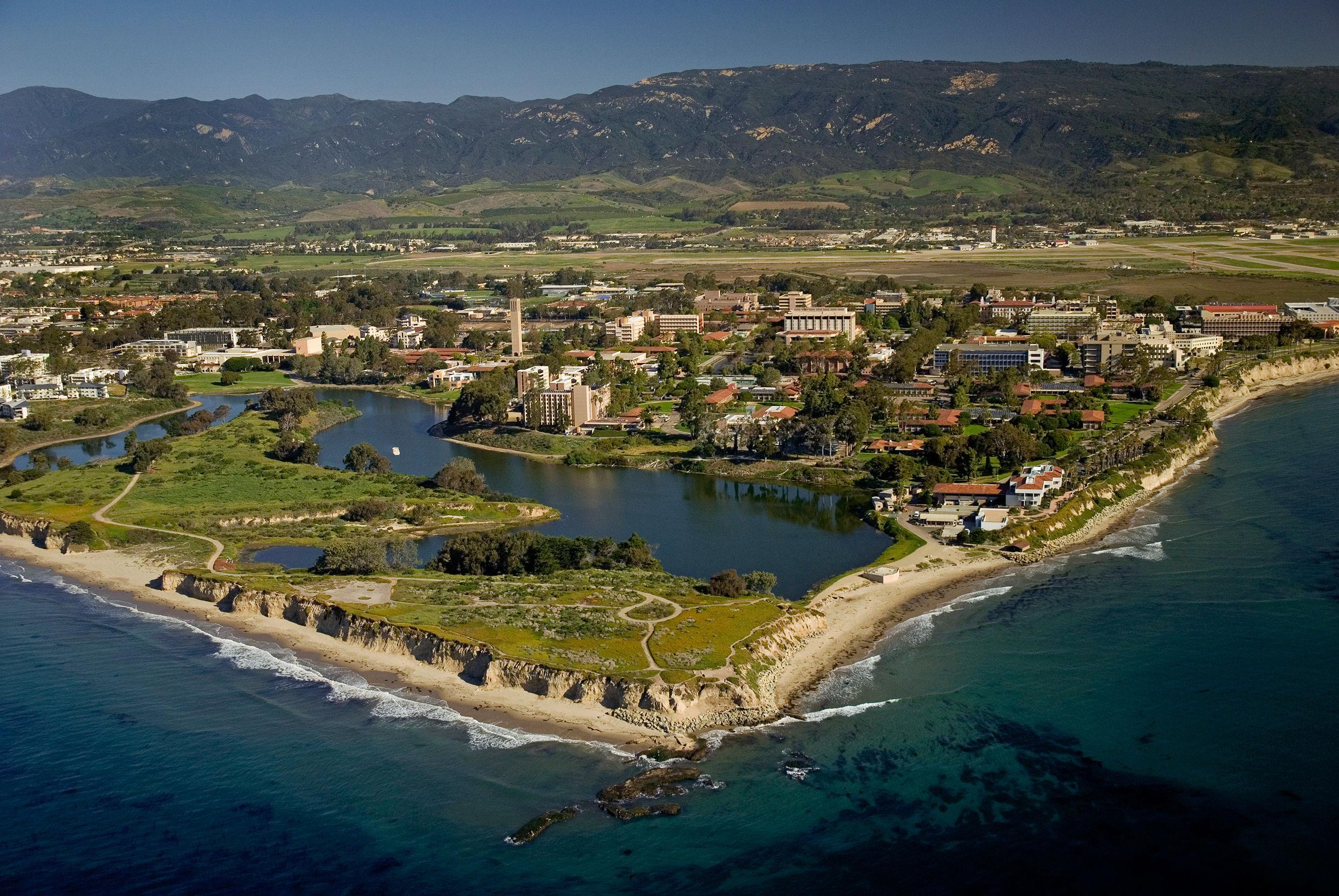 UCSB 聖塔芭芭拉加大 - 緊臨太平洋的海岸校園
