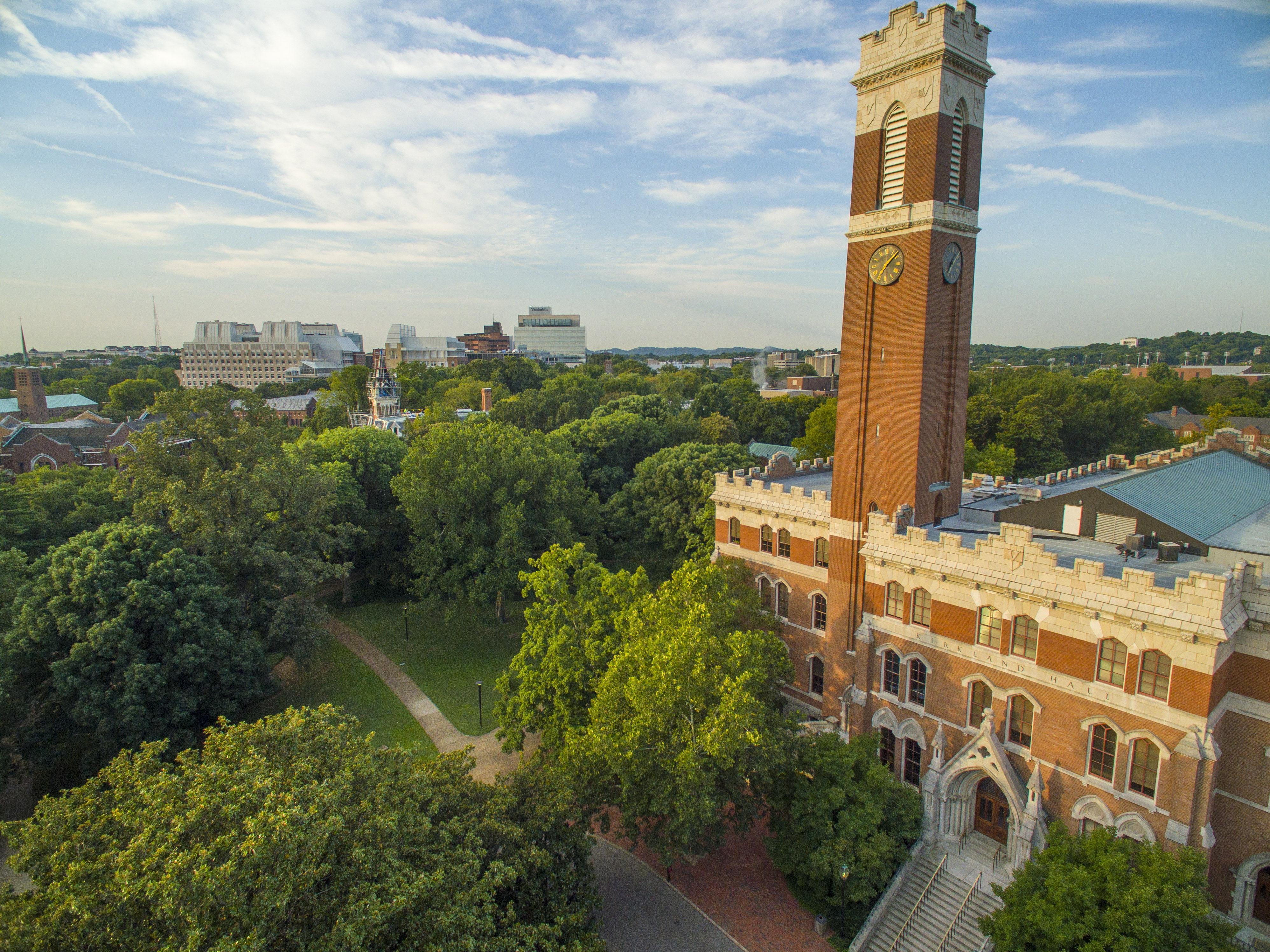 Vanderbilt范德堡大學 - 美國南方的私立名校,擁有美麗的校園及豐富的資源