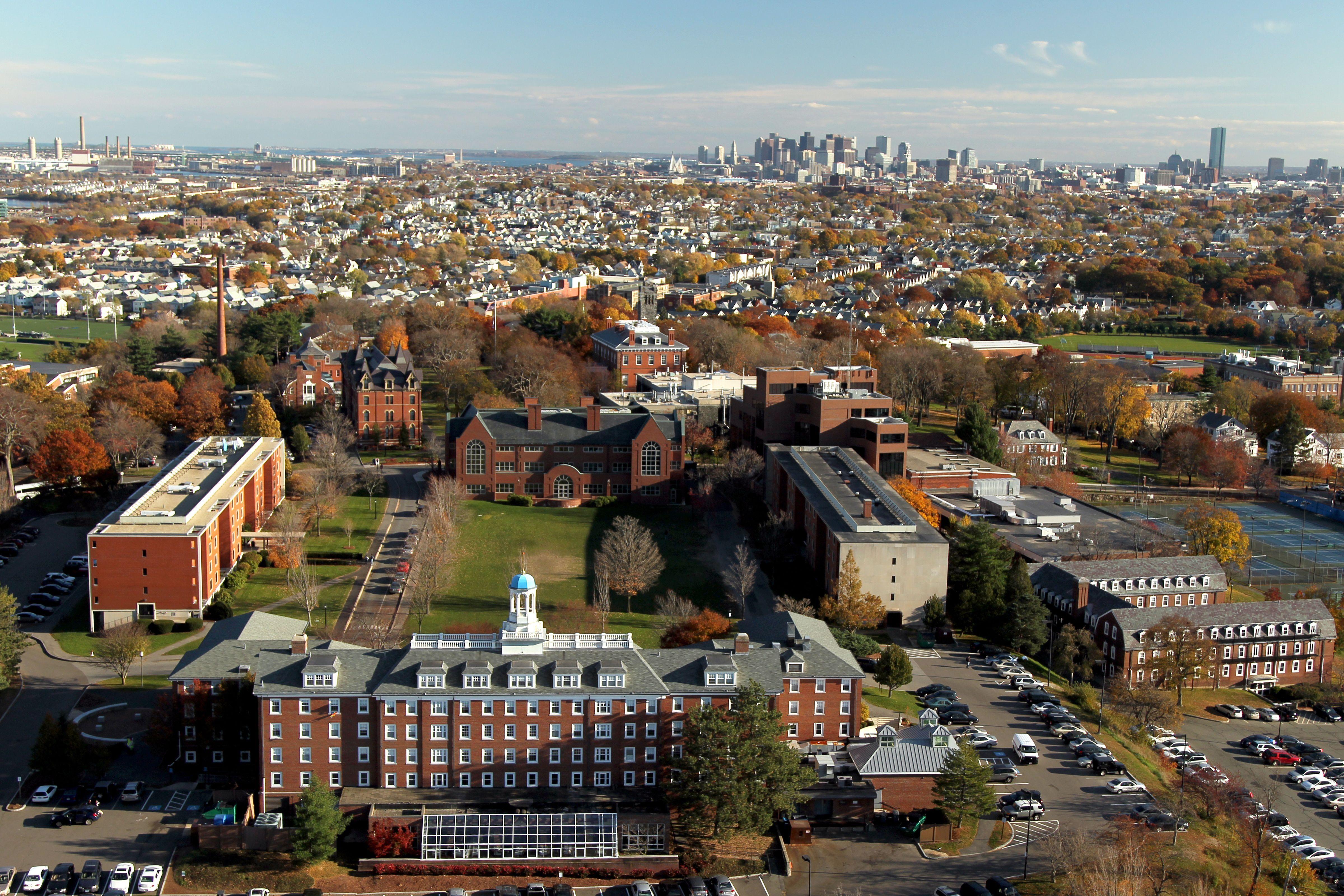 Tufts University Campus main campus
