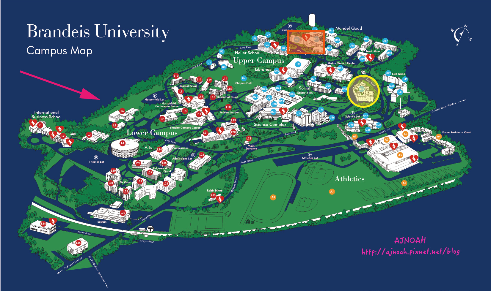 Brandeis布蘭戴斯大學 – 波士頓都會區頂尖文理學院,提供無差別教育