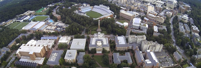 UNC- Chapel Hill北卡羅來納州大學教堂山分校 – 歷史悠久的公立大學