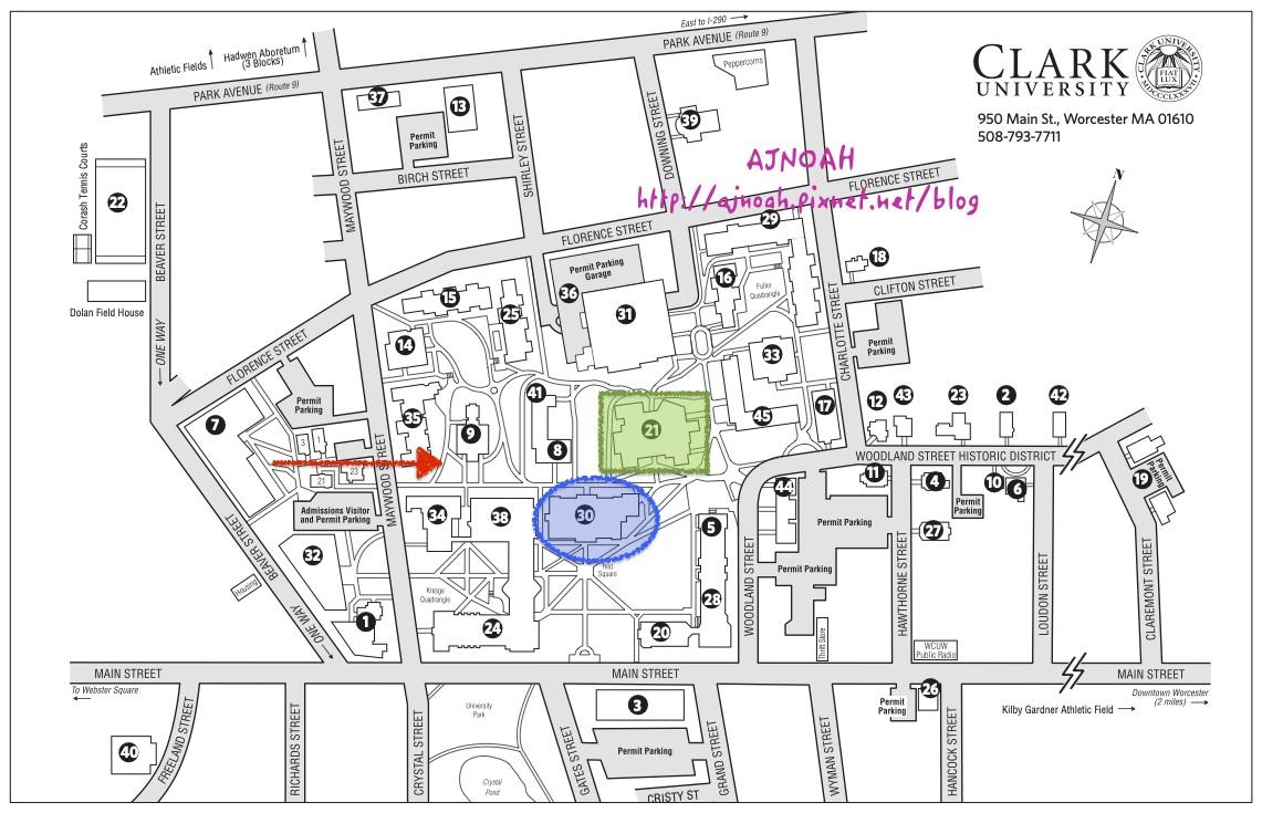 Clark 克拉克大學 – 小規模校園,卻相當注重拓展學生視野