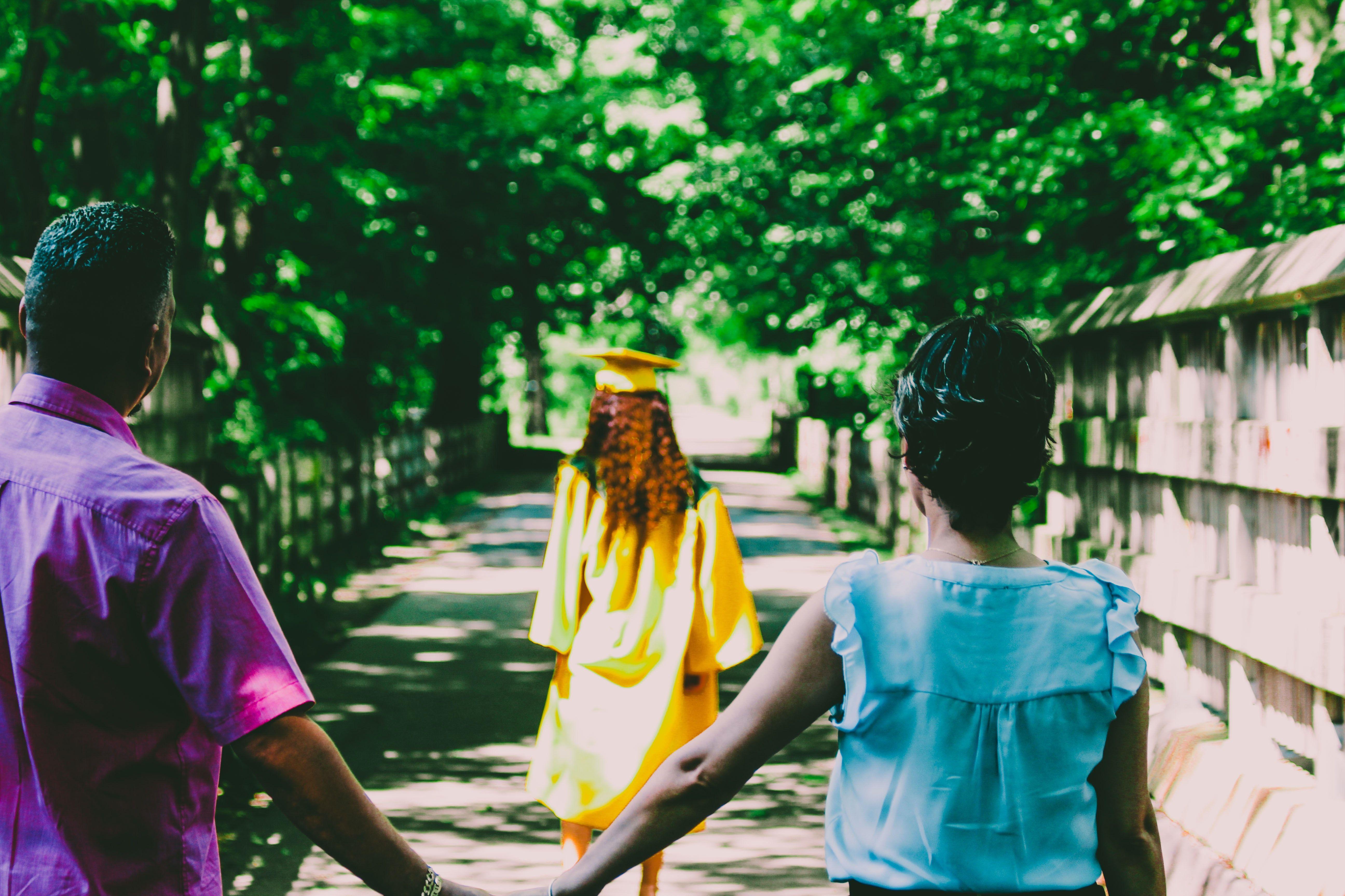 家人是每位留學生的靠山