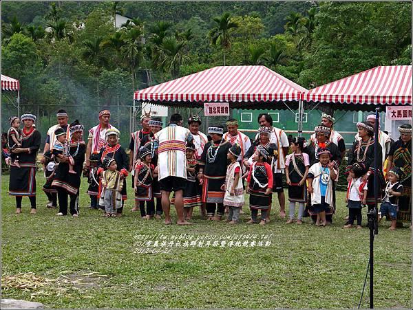 101年布農族丹社族群射耳祭暨傳統競賽17