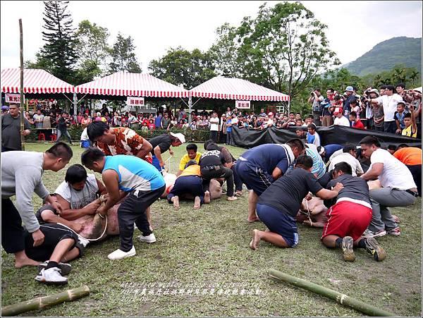101年布農族丹社族群射耳祭暨傳統競賽46