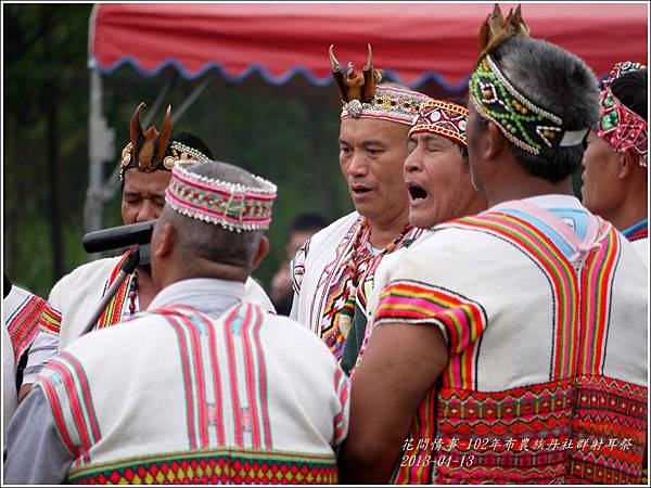 102年布農族丹社群射耳祭2