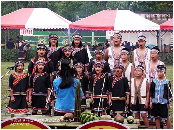 102年布農族丹社群射耳祭4