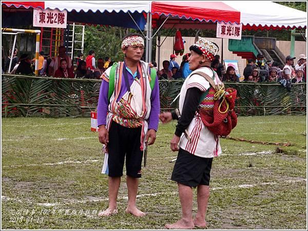 102年布農族丹社群射耳祭18