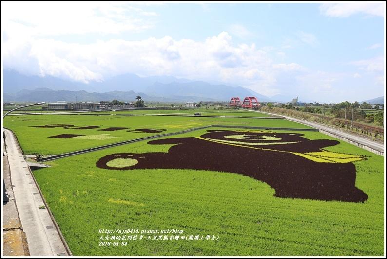玉里黑熊彩繪田(熊讚上學去)-2018-04-06.jpg