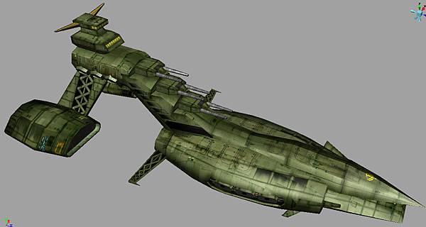 姆塞级轻巡洋舰——2