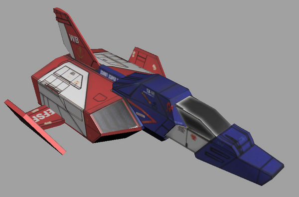 FF-X7核心战机——1