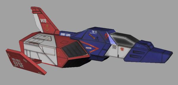 FF-X7核心战机——2