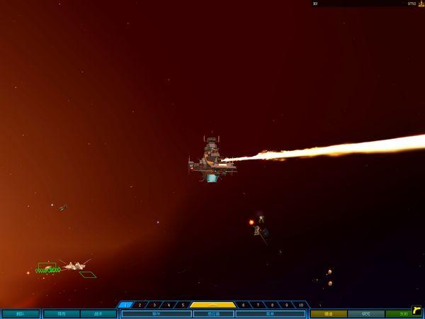 麦哲伦战舰新的光线主炮效果。