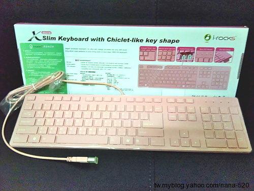 I-Rocks IRK01W PINK 粉紅巧克力鍵盤 2012.07.23.jpg