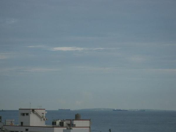 大晴天可以遠眺小琉球