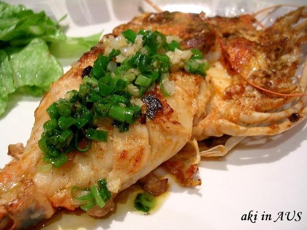 奶油蒜香煎明蝦