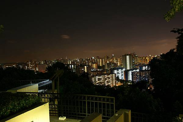 花柏山Mount Caber 夜景