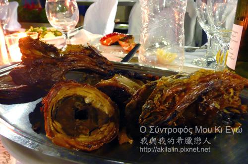 kokoretsi 希臘烤羊腸