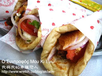 希臘串燒捲餅- 蘇夫拉起 souvlaki