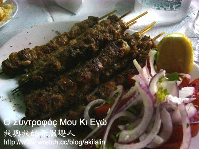 希臘串燒- 蘇夫拉起 souvlaki