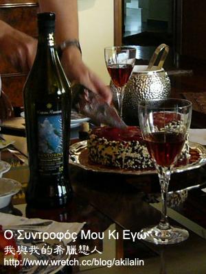 聖多里尼特產 Vinsanto 甜酒