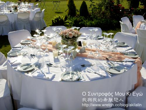 婚宴桌飾設計