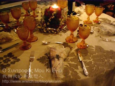 2007 聖誕餐飾