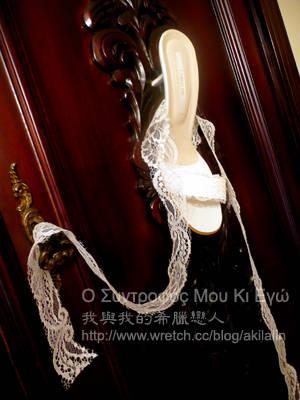 蕾絲新娘鞋