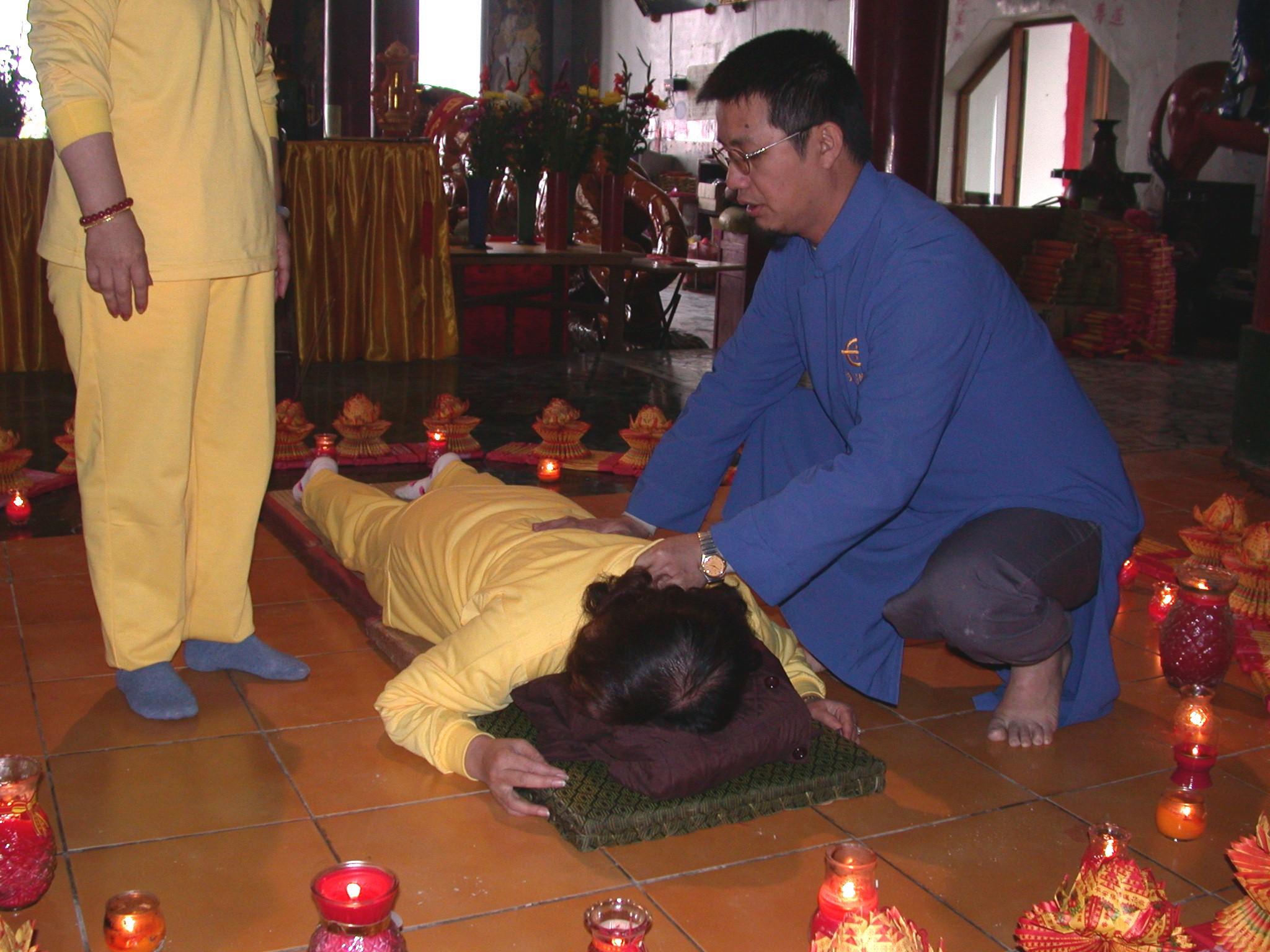 Spiritual therapy 靈療