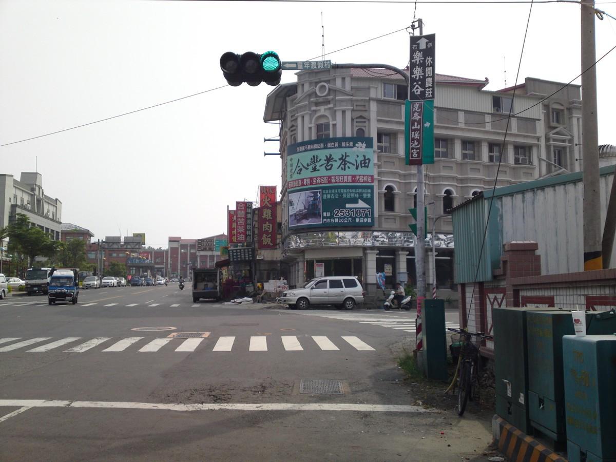 r05中埔紅綠燈右轉